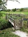Footbridge over Askrigg Beck - geograph.org.uk - 556365.jpg