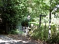 Footpath Junction and Kissing gate. - geograph.org.uk - 503680.jpg