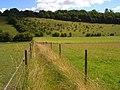 Footpath between Radnage and Bledlow Ridge - geograph.org.uk - 892057.jpg
