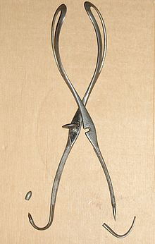 French forceps, Levret-Baudelocque type (1760–1860)
