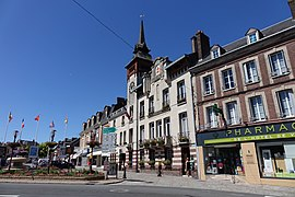The town hall in Forges-les-Eaux