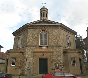 St John the Evangelist's Church, Chichester - Image: Former St John the Evangelist's Church, St John's Street, Chichester