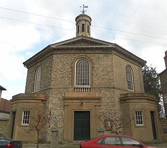 St John the Evangelist's Church, Chichester - Image: Former St John the Evangelist's Church, St John's Street, Chichester