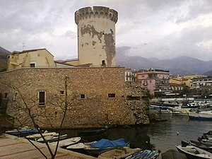 Formia - The tower of Mola Castle