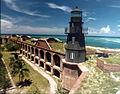 Fort Jefferson lighthouse - Garden Key, Florida.jpg