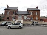 Fourdrain (Aisne) mairie - école.JPG