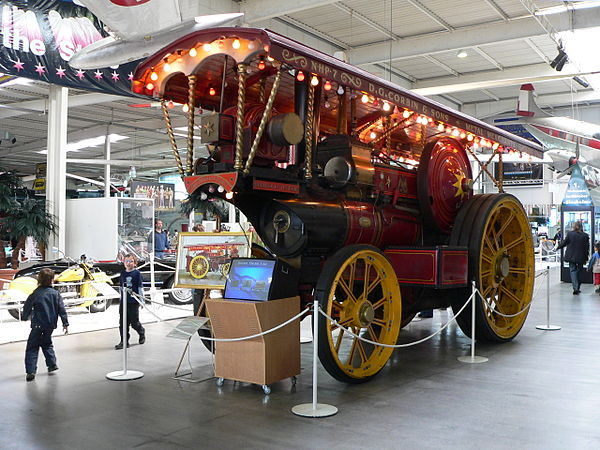 Fowler's Monarch of the Road showman's engine