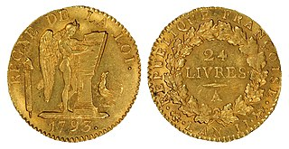 French livre currency of Kingdom of France and its predecessor state of West Francia from 781 to 1794
