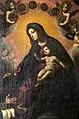 Francesco curradi, Madonna del Rosario con san Domenico e devoti, 1630-40 ca. 02.jpg