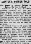 Francis Edward Boland (1873-1913) obituary in the Asbury Park Press on 25 January 1913.png