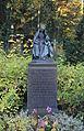 Frankfurt, Hauptfriedhof, Grab E 15 Winterwerb.JPG