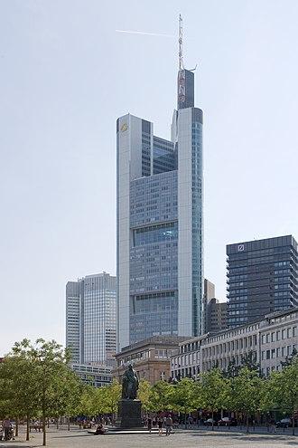 Commerzbank - Commerzbank Tower in Frankfurt