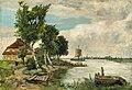 Franz Bunke - Die Fähre bei Rostock (1902).jpg