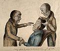 Franz Joseph Gall and Johann Caspar Spurzheim examining a pa Wellcome V0011103.jpg
