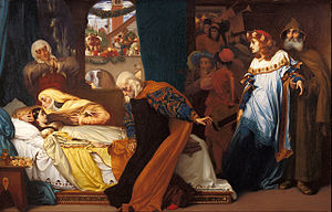 Frederic Leighton - The feigned death of Juliet - Google Art Project