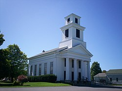 Greek Revival church in the Township