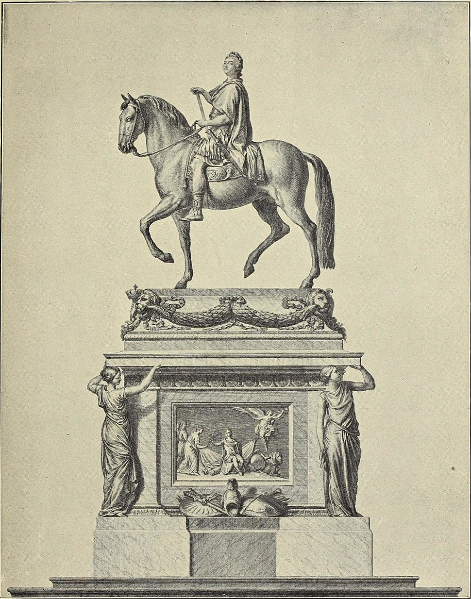 French architects and sculptors of the XVIIIth century (1900) (14578206667)