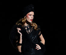 Frida Gustavsson in November 2011
