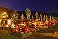 Friedhof Großarl in der Abenddämmerung.jpg