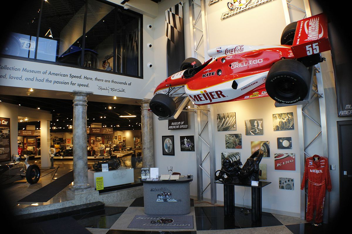 Museum of american speed wikipedia for Speedway motors museum lincoln ne
