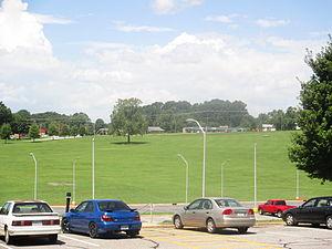Western Piedmont Community College - WPCC front lawn