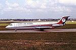 G-BEKA BAC1-11 Dan Air BHX 06-08-87 (29778656128).jpg