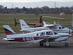 G-BIZO Piper Cherokee Arrow (24853729059).jpg