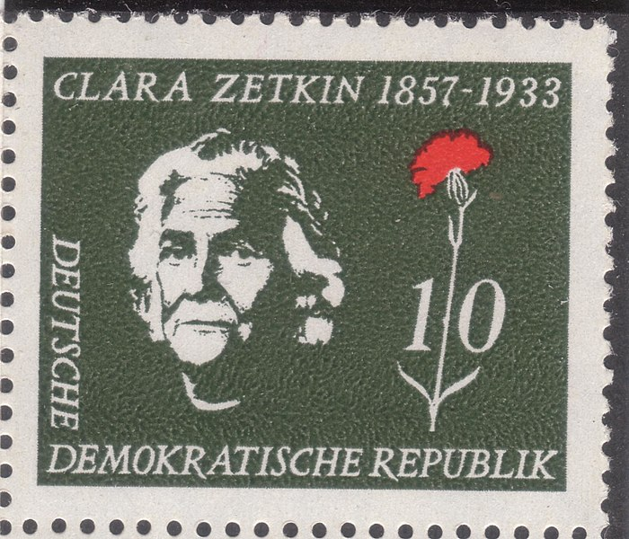 File:GDR-stamp Clara Zetkin 1957 Mi. 592.JPG