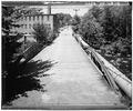 GENERAL VIEW, DECK, VIEW TO NORTH - Tioronda Bridge, South Avenue spanning Fishkill Creek, Beacon, Dutchess County, NY HAER NY,14-BEAC,3-14.tif