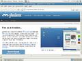GNewSense 3.0 Desktop Epiphany Browser.png