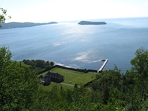 English: Grand Portage National Monument, Minn...