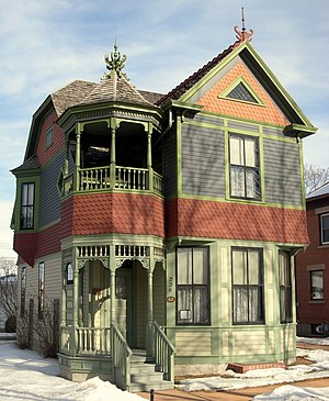 Wanda Gág - The author's childhood home in New Ulm, Minnesota, is a museum.