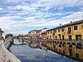 Gaggiano - Il Naviglio Grande - Via Gozzadini e Via Roma - panoramio.jpg