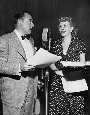 Bea Benaderet - Benaderet and Gale Gordon on Granby's Green Acres in 1950