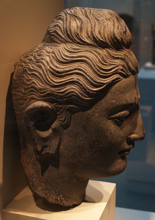 Head of a Buddha, Gandharan Style