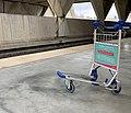 Gare de Lyon-Saint-Ex - chariot sur le quai.jpg