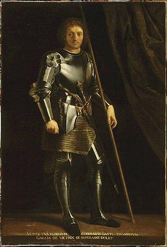 Gaston of Foix, Duke of Nemours - Gaston de Foix, a much later depiction.