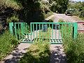 Gate with stile, Crow Wood Lane, Barkisland - geograph.org.uk - 180072.jpg