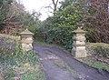 Gateposts, Newhouse Hall, Sheepridge, Fartown, Huddersfield - geograph.org.uk - 322411.jpg