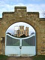 Gateway to Hardwick Hall from the stableyard square - geograph.org.uk - 647819.jpg