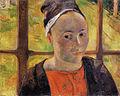 Gauguin 1888 Portrait présumé de Marie Lagadu.jpg