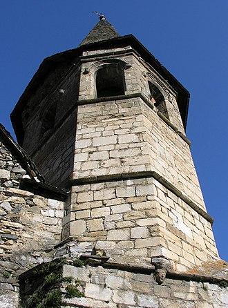 Vielha e Mijaran - Image: Gausac Església de Sant Martí