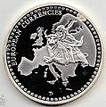 Gedenkprägung - European Currencies - 1 DM c.jpg
