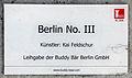 Gedenktafel Fehrbelliner Platz 4 (Wilmd) Buddy Bär Berlin No III.jpg