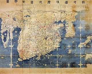 the later honkji version of the map