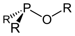 Ester - structure of a generic phosphinite.