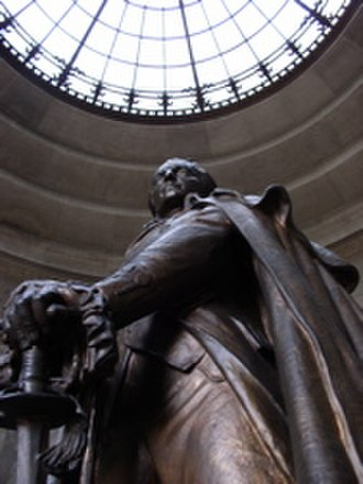 George Rogers Clark National Historical Park - Image: George rogers clark statue