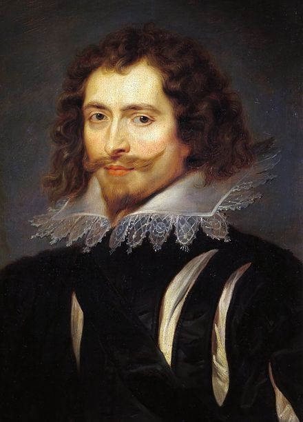 George Villiers, 1r Duc de Buckingham, favorit de Carles I, retratat per Peter Paul Rubens (1625).