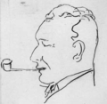 George Hele caricature.png