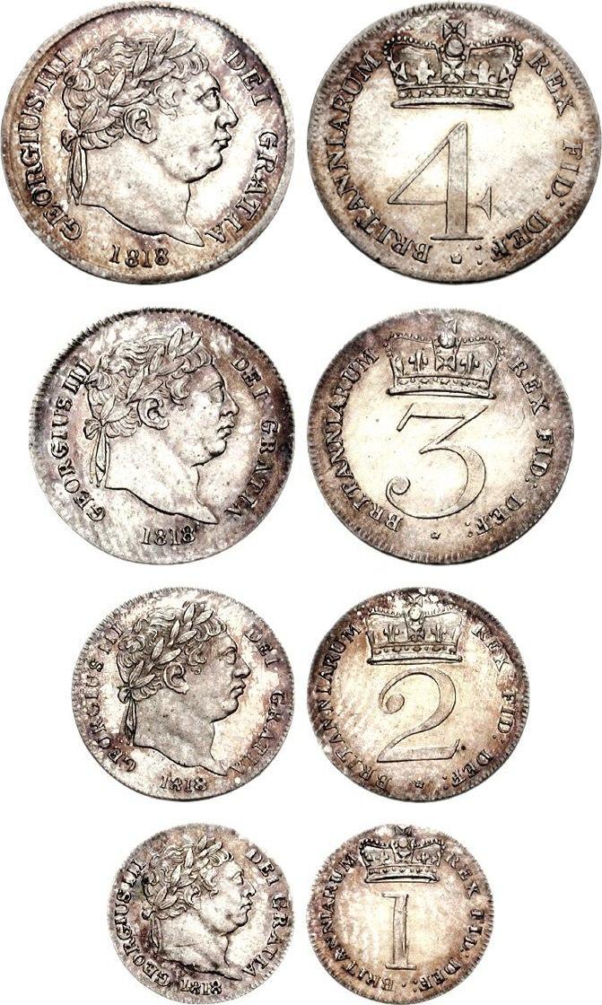 George III Maundy 1818 73001291